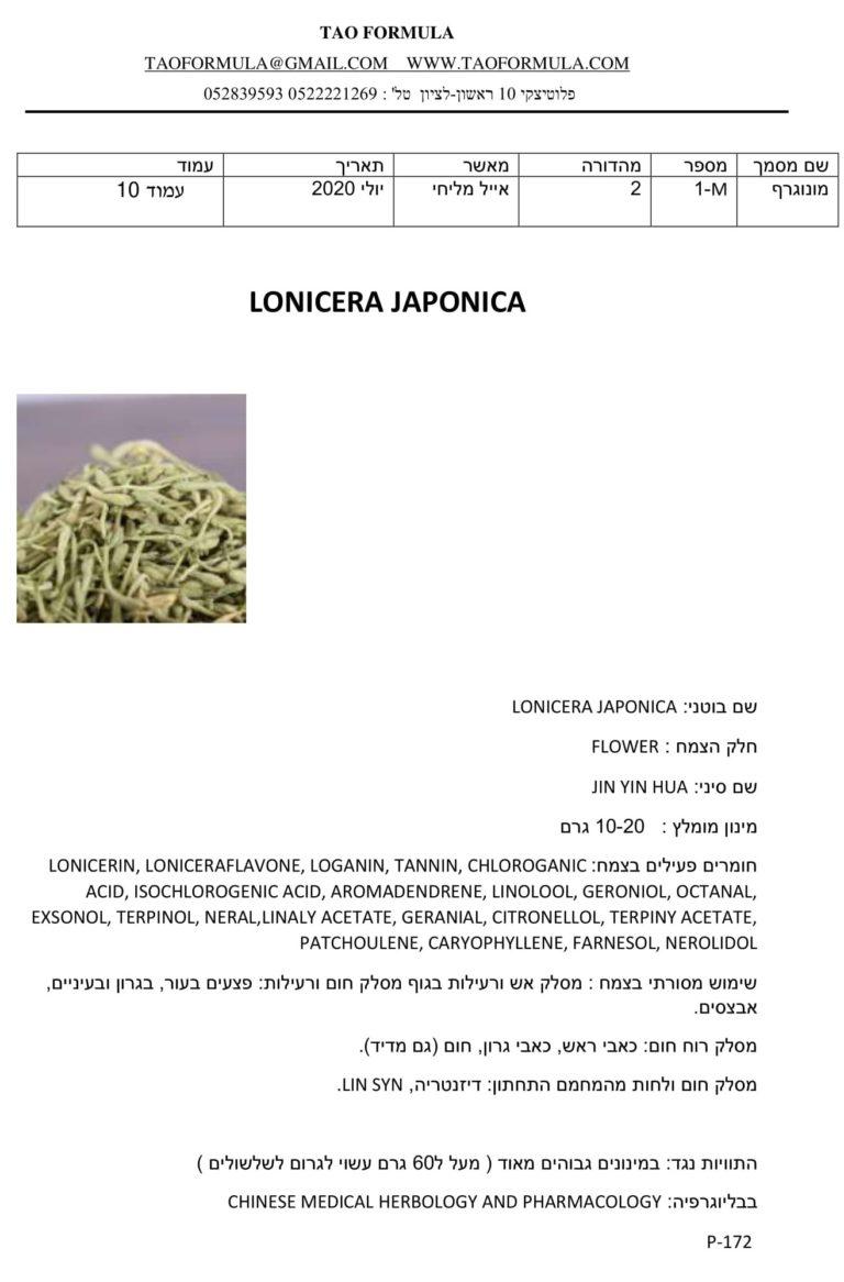 LONICERA JAPONICA 1
