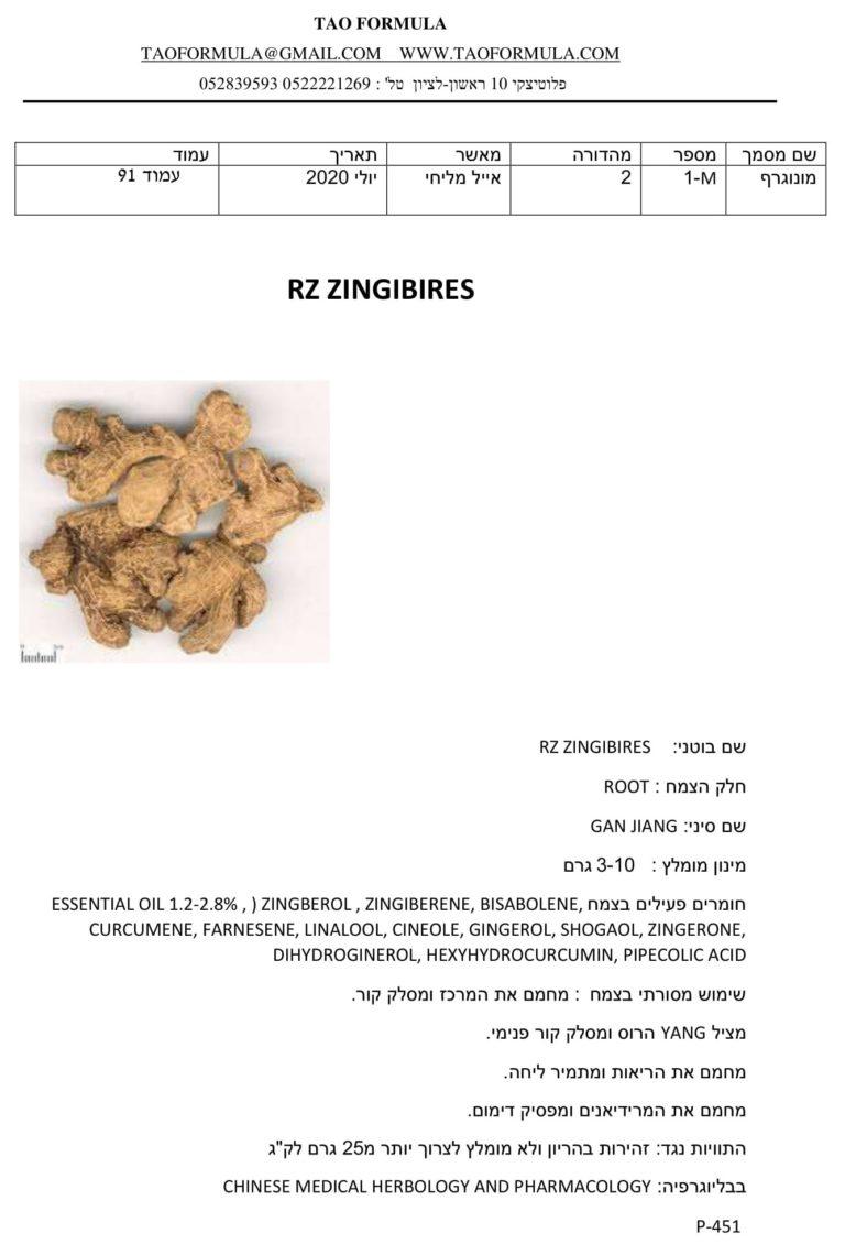 ZINGIBIRES 1
